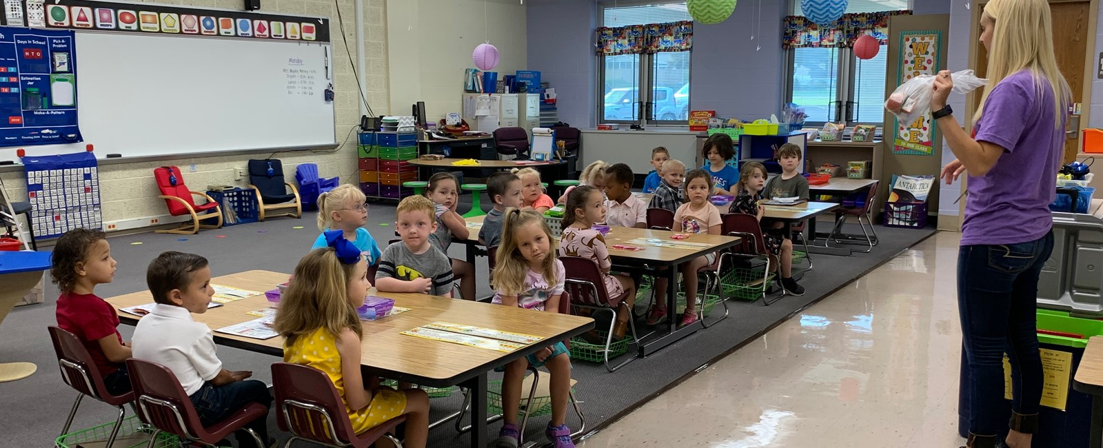 Our students are ready to learn and looking forward to the 2019-2020 school year!