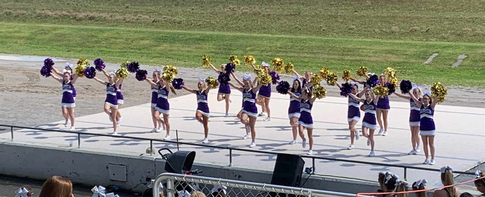 Our Cheerleaders did an awesome job representing Sebring in the Canfield Fair Cheerleading Demonstration!
