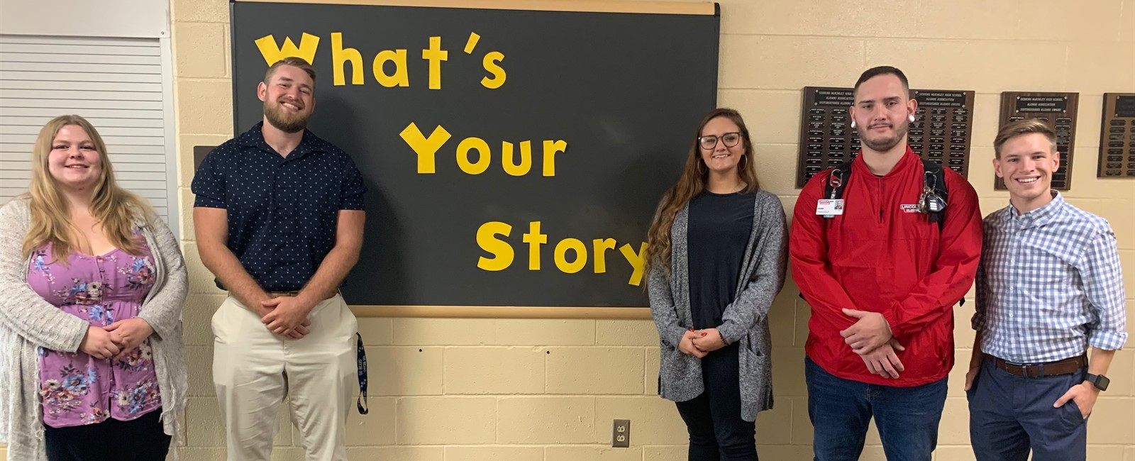 Thank you so much to our All Star Alumni George Clark, Christopher Clemens, Destinee Green, Emma Holodnak and Zane Twaddle for sharing their stories with our students!