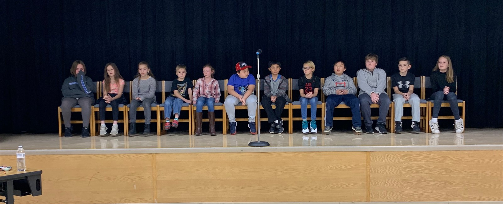 A job well done to all of this year's Spelling Bee participants!