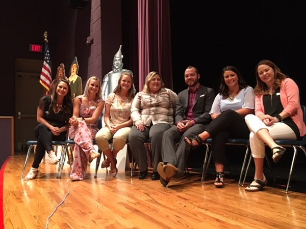 Seven  graduates from the Class of 2007 return to Sebring High School to tell students why they are proud to be Trojan alumni.