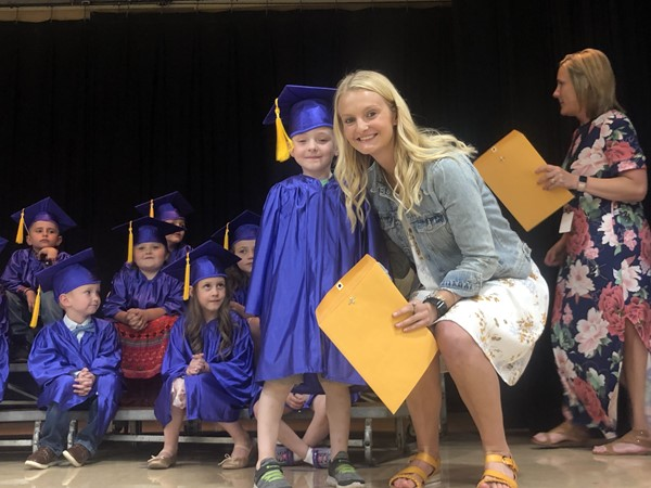 B.L. Miller Elementary School celebrated kindergarten graduation on Wednesday, May 22, 2019.