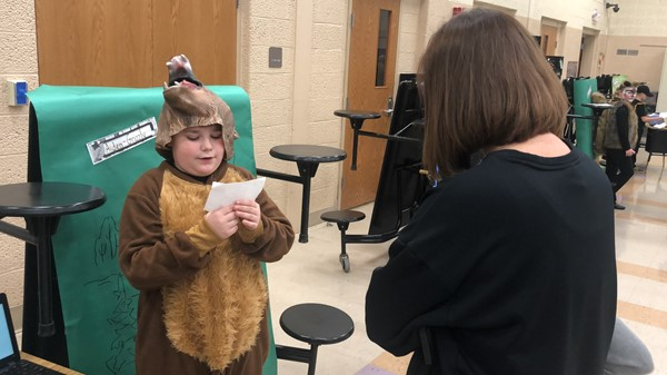 B.L. Miller Elementary School second-grade classes hosted Night at the Zoo on Tuesday, April 30, 2019.