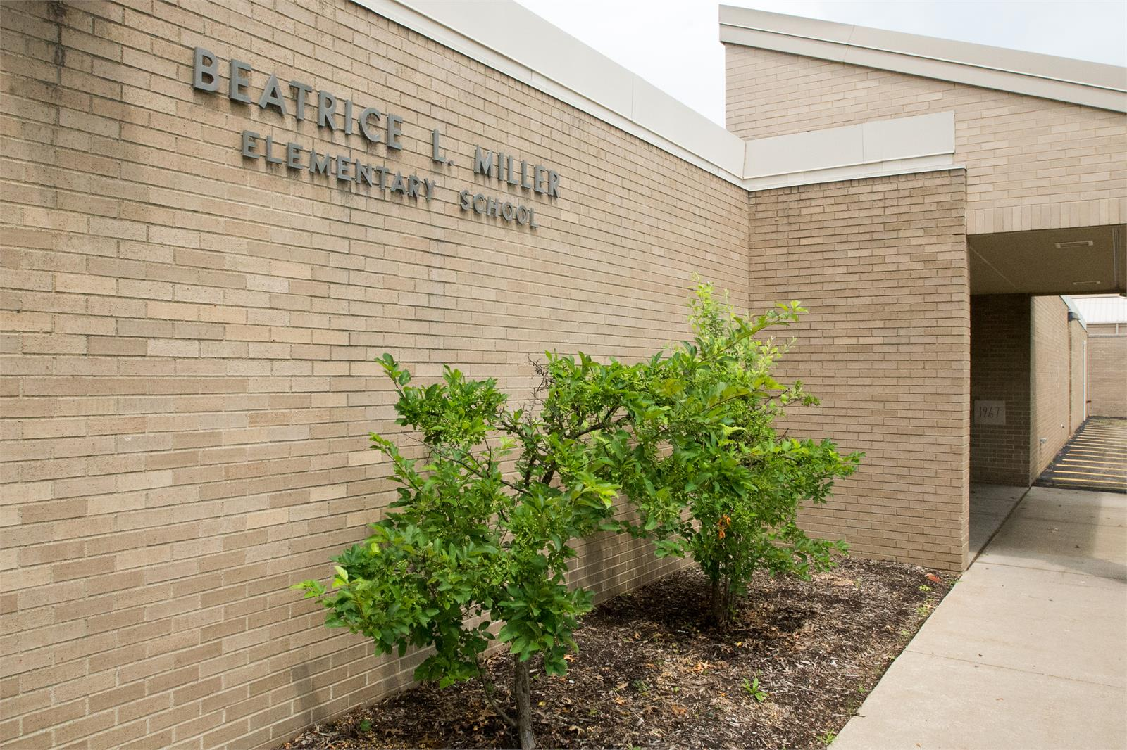 BL Miller School Entrance