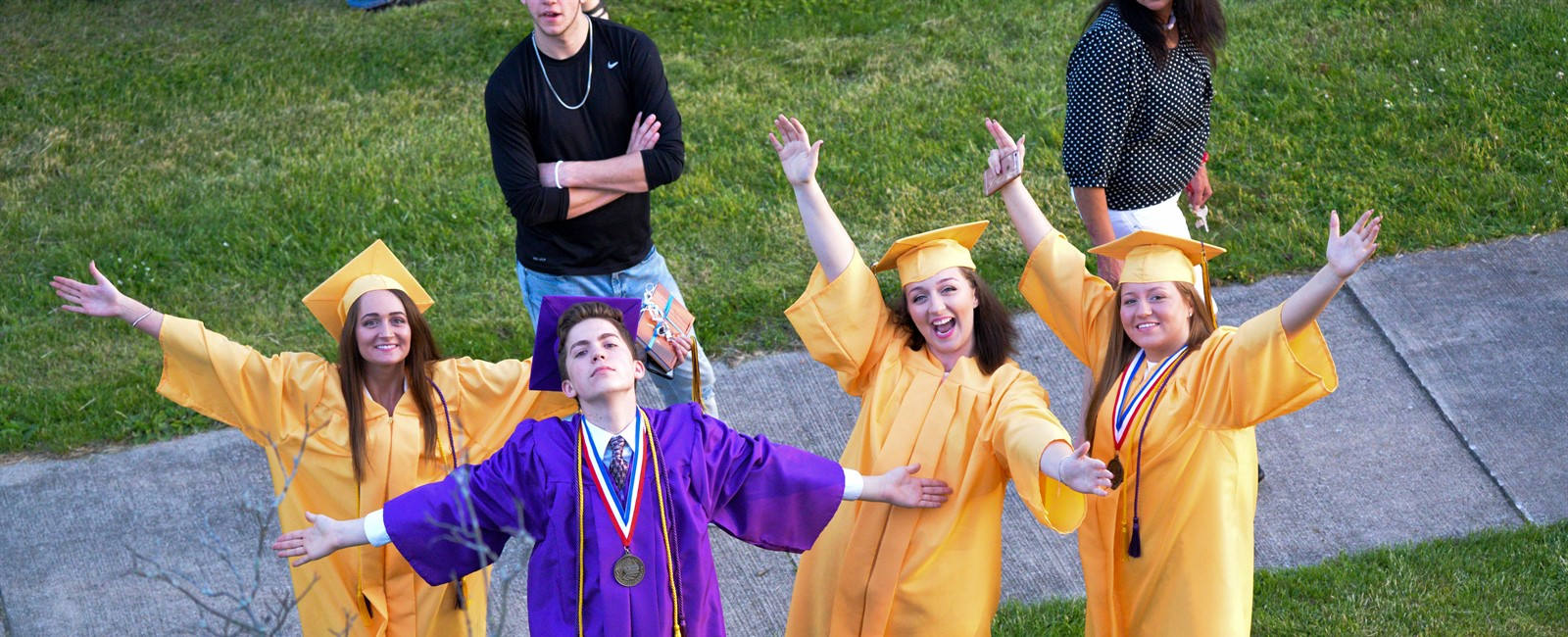 Photo of Sebring Graduates Celebrating