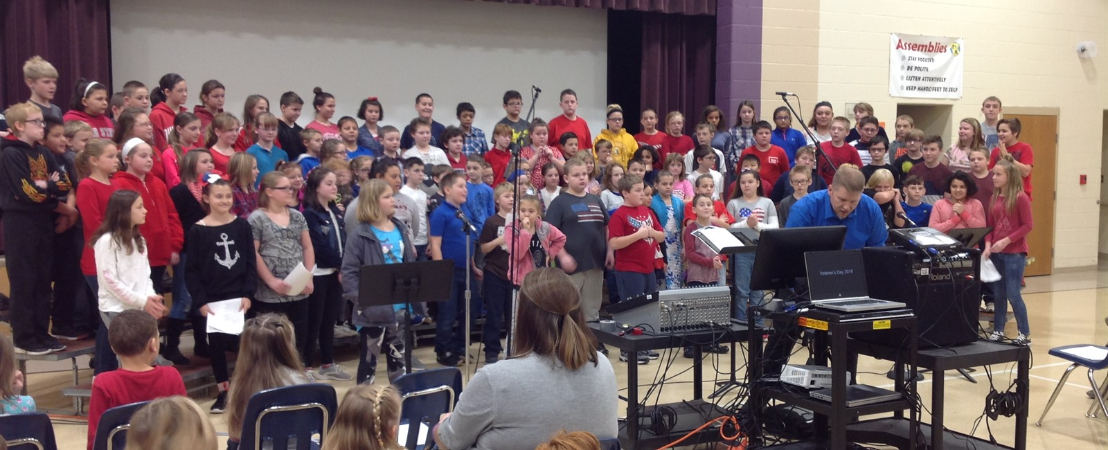 B.L. Miller Elementary School's Annual Veterans Day Program