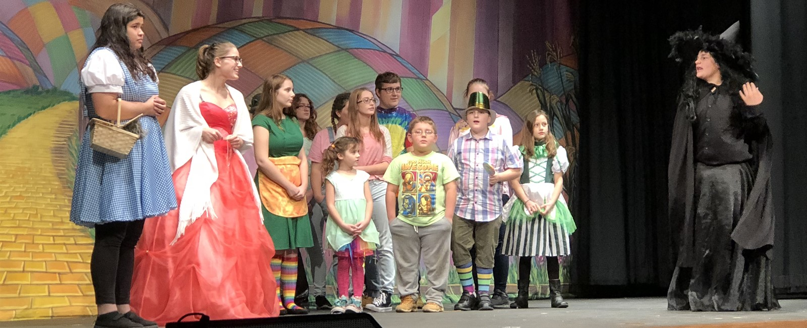 Sebring's Drama Department performed The Wonderful Wizard of Oz by Michelle Vacca