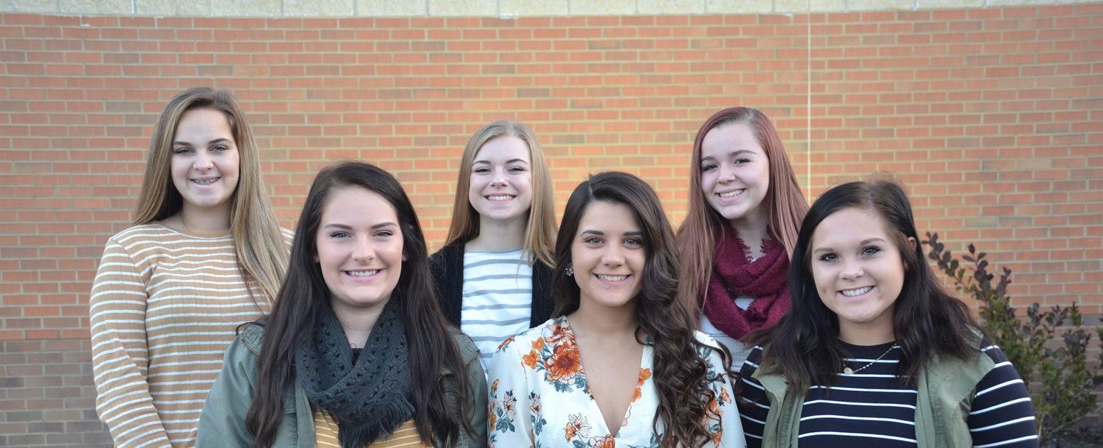 Congratulations to the 2018 Homecoming Court: Jocelyn McMillen, Gabrielle Lozoya, Addison Brendlinger, Hannah Warner, Skye Somerville, and Riley Newell.