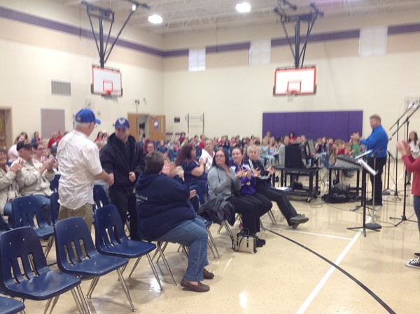 B.L. Miller Elementary's Annual Veterans Day Program