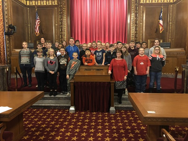 B.L. Miller visits Supreme Court of Ohio