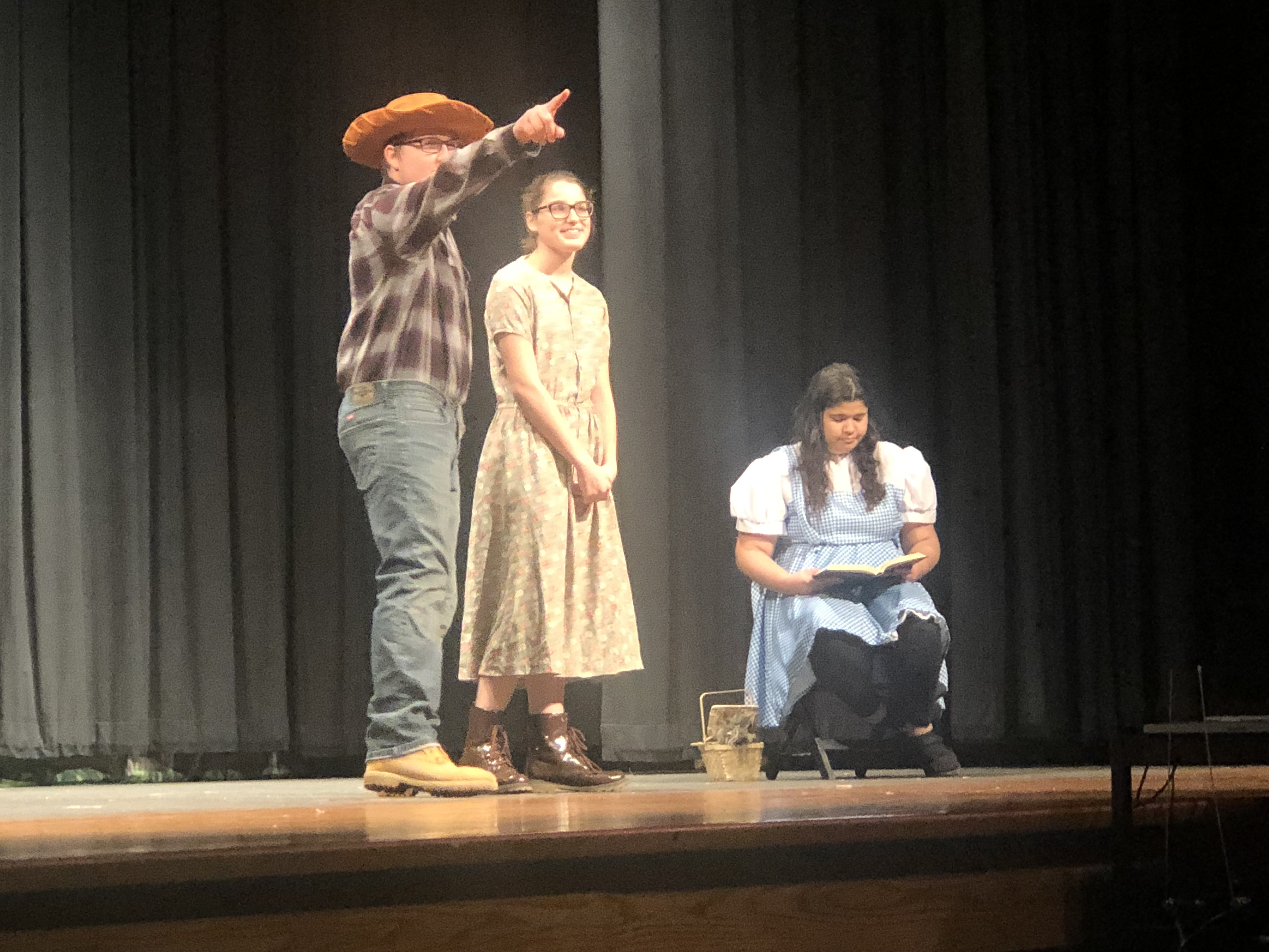 The drama department perform The Wonderful Wizard of Oz by Michelle Vacca