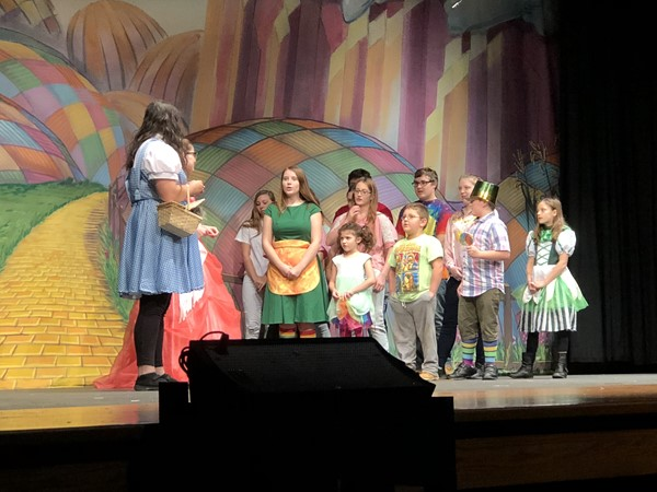 The drama department performed The Wonderful Wizard of Oz by Michelle Vacca